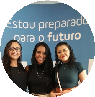 Jhennifer Holanda, Kelrylene Gomes e Renata Braz